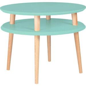 Světle tyrkysový konferenční stolek Ragaba Ufo, ⌀57cm