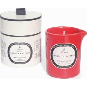 Masážní svíčka s vůní santalového dřeva, pačuli a ylang ylang Parks Candles London Stimulating, 50 hodin hoření