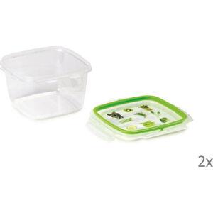 Sada 2 krabiček na potraviny Snips,1l