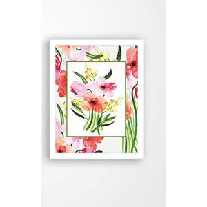 Nástěnný obraz na plátně v bílém rámu Tablo Center My Garden, 29 x 24 cm