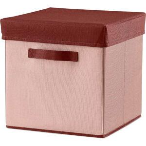 Růžový úložný box Flexa Room