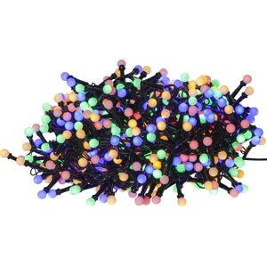 Barevný venkovní světelný LED řetěz Best Season Berry Mini, 700 světýlek