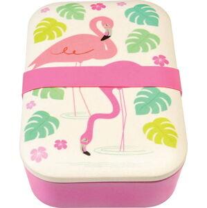 Bambusový box na svačinu Rex London Flamingo Bay