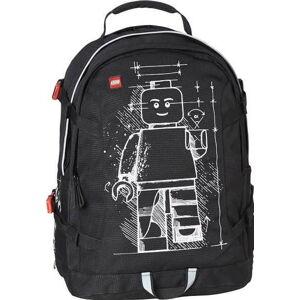 Černý dětský batoh LEGO® Tech Teen