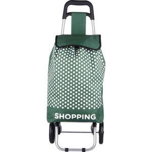 Zelená nákupní taška na kolečkách Hero Andes, 29l