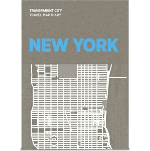 Mapa na popisky Palomar Transparent City New York