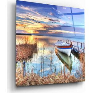 Skleněný obraz Insigne Lake Landscape,40 x40cm
