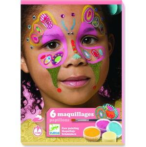 Set pro malování na obličej Djeco Motýlci