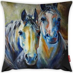 Povlak na polštář Vitaus Horses Art, 43 x 43 cm
