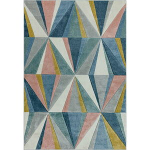 Koberec Asiatic Carpets Diamond Multi, 120 x 170 cm