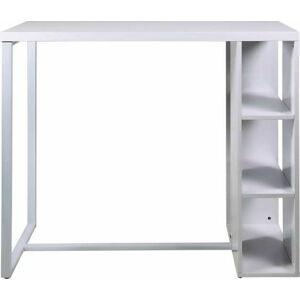 Bílý barový stolek Actona Avocet
