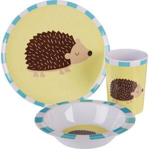 3dílný jídelní set pro děti s motivem ježka Premier Housewares