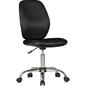 Černá dětská židle na kolečkách Skyport Amstyle Emma