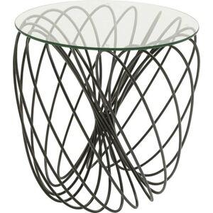 Odkládací stolek Kare Design Wire Ball, ⌀45cm