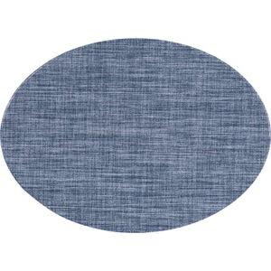 Modré prostírání Tiseco Home Studio Oval, 46 x 33 cm