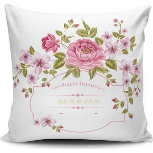 Povlak na polštář s příměsí bavlny Cushion Love Lovely, 45 x 45 cm