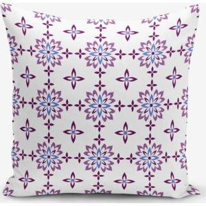Povlak na polštář s příměsí bavlny Minimalist Cushion Covers Flower Duro, 45 x 45 cm