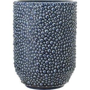 Modrá keramická váza Bloomingville Vase