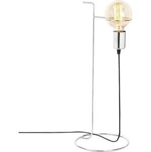 Kovová stolní lampa v chromové barvě Opviqlights Ersi