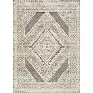 Béžový koberec Universal Piazza Geo, 80 x 150 cm