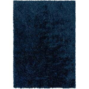 Modrý koberec Flair Rugs Dazzle, 60 x 110 cm