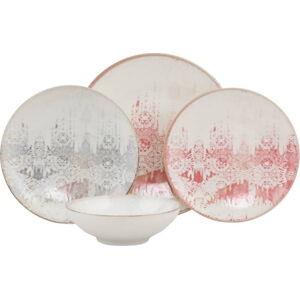 24dílná sada nádobí Güral Porselen Ornaments