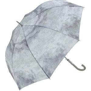 Šedý větruodolný deštník Ambiance Cloud Effect, ⌀122cm