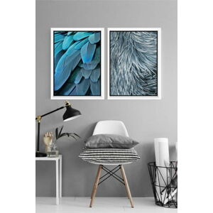 Sada 2 plakátů v rámu Piacenza Art Nature, 30x20cm