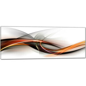 Obraz Styler Glasspik Abstraction, 50 x 125 cm