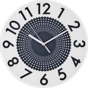 Šedé nástěnné hodiny Postershop Infinity,ø30cm