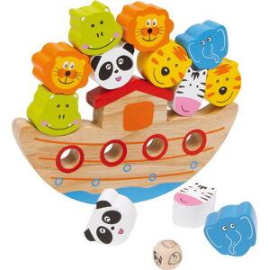 Dřevěná balanční hračka Legler Ark