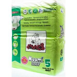 Dětské plenky Muumi Baby Maxi, vel. 5, 3 x 44 kusů