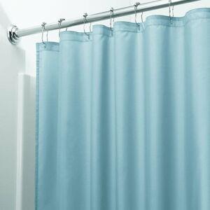 Modrý sprchový závěs iDesign, 200x180cm