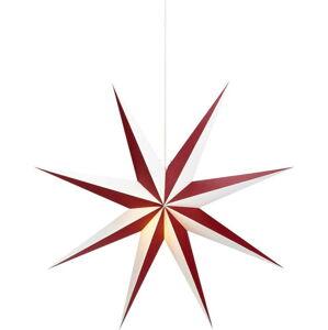 Červeno-bílá světelná dekorace Markslöjd Alva, ø75cm