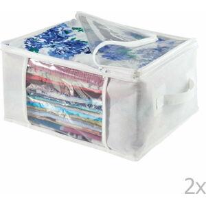 Sada 2 úložných boxů InterDesign Zipper