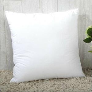 Bílá výplň do polštáře s příměsí bavlny Minimalist Cushion Covers,55x55cm