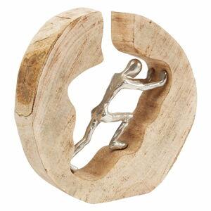 Dekorativní soška Kare Design Man In Log