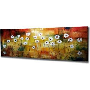 Nástěnný obraz na plátně Daisy, 80 x 30 cm