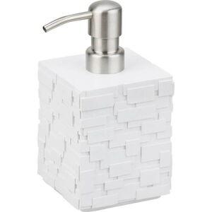 Bílý dávkovač na mýdlo Tomasucci Lion