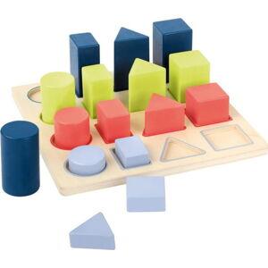 Dětská dřevěná edukativní hra Legler Geometry