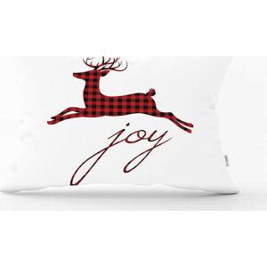 Vánoční povlak na polštář Minimalist Cushion Covers Rudolph,35x55cm