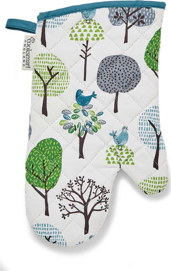 Bavlněná kuchyňská rukavice Cooksmart ® Forest Birds