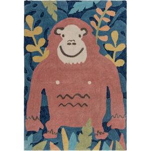 Dětský koberec Flair Rugs Jungle Monkey, 100 x 150 cm