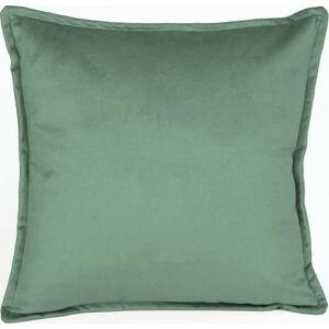Zelený sametový polštář Velvet Atelier Aqua,45x45cm