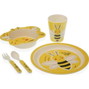 Dětský set žlutého nádobí Versa Infantil Amarilla