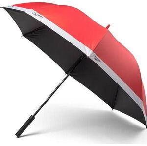 Červený holový deštník Pantone