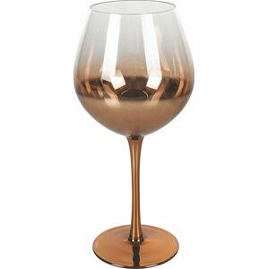 Sada 6 sklenic na víno v měděné barvě Villa d'Este Avenue,570ml