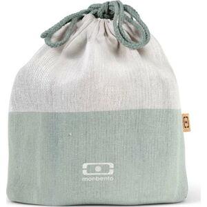 Zelený textilní sáček na svačinový box Monbento Pochette