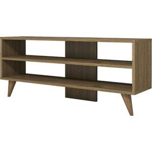 Hnědý TV stolek One