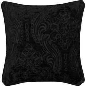 Černý povlak na polštář Kate Louise Exclusive Ranejo, 45 x 45 cm